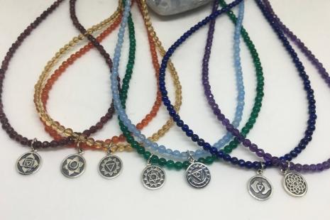 Crown Chakra Choker Necklace