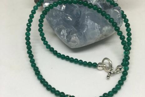 Heart Chakra Choker Necklace