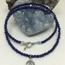 Third Eye Chakra Choker Necklace