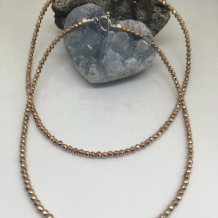 Rose Gold Hematite Choker
