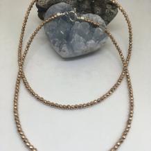 Rose Gold Hematite Choker